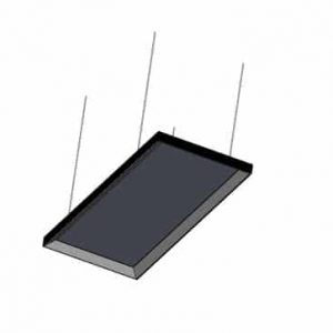 BASE PARA COLGAR PANEL LED 600*1200