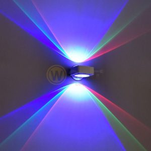APLIQUE LED BLANCO 6W RGB