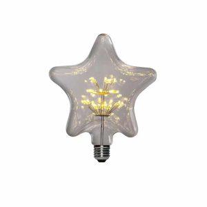AMPOLLETA LED E27 DECORATIVA PENTAGRAMA 1.5W