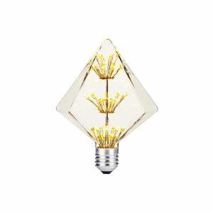 AMPOLLETA LED E27 DECORATIVA DIAMANTE 2W