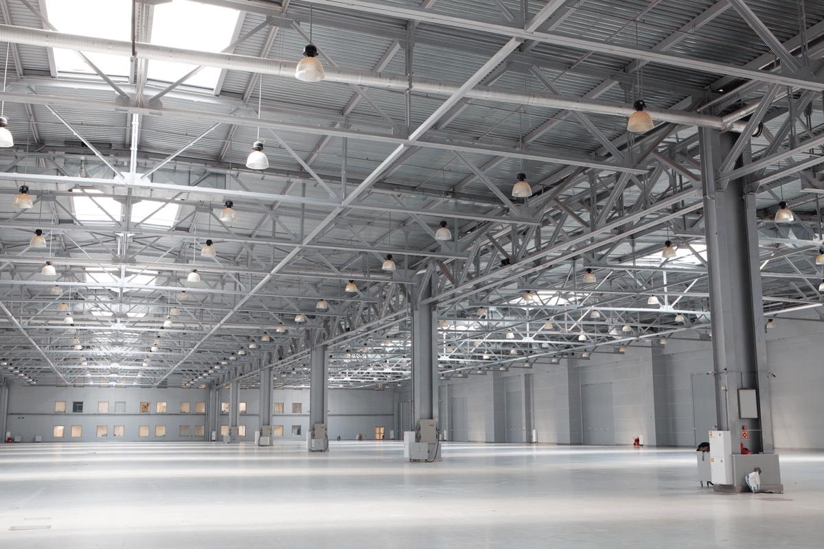 Sugerencia para iluminar espacios industriales