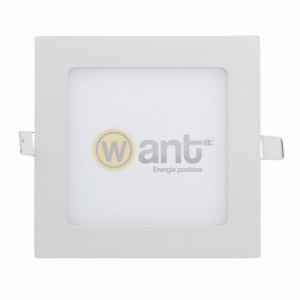PANEL LED EMBUTIDO CUADRADO 12W