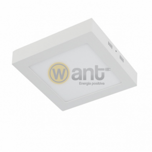 PANEL LED SOBREPUESTO CUADRADO 18W