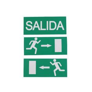 LUZ LED DE EMERGENCIA CON 3PC DE SALIDA