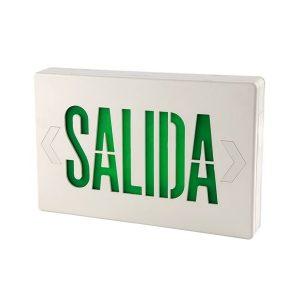 LUZ LED DE EMERGENCIA PRO CON LETRERO SALIDA