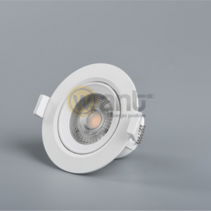 SPOT LED DIRIGIBLE COB EMBUTIDO 7W