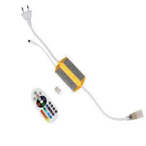 CONECTOR CON CONTROL PARA CINTA LED RGB