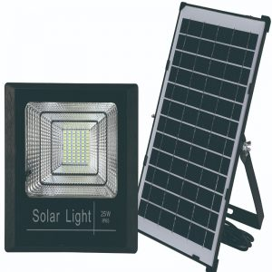 PROYECTOR LED 25W CON SOLAR 6500K