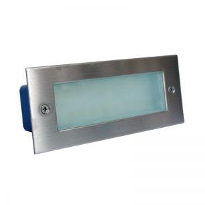 APLIQUE LED EMBUTIDO INOXIDABLE 3W